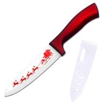 XYJ Marca Mejores Regalos de Navidad Serie Zirconia Cuchillo de Cerámica de 6 Pulgadas cuchillo de Cocina Cuchillo Cocinero Prácticos Verduras Frutas Herramientas de Cocina