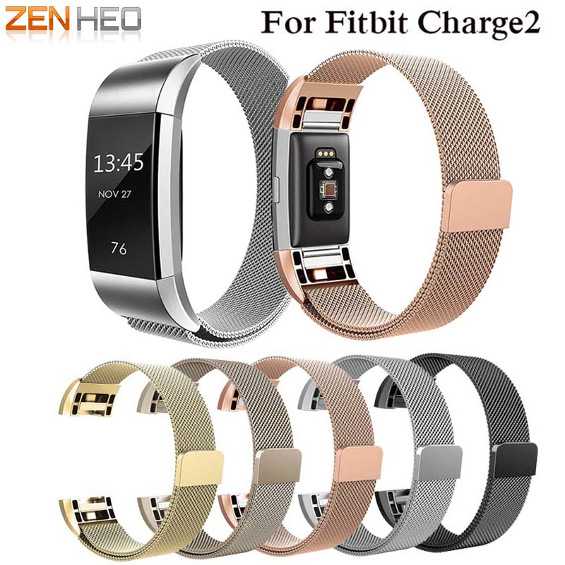 Milanese Loop for Fitbit Charge 2 band replacement strap wrist bands Link Bracelet Stainless Steel Bracelet For charge2 belt все цены
