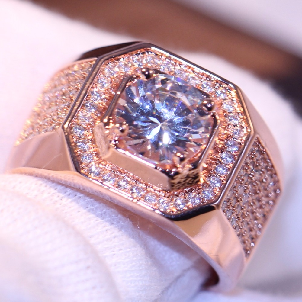choucong 90% Discount Luxury Jewelry 10kt White&Rose Gold Filled ...