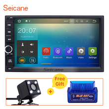 Seicane 2GB RAM 1024*600 2 Din 7inch Android 7.1 Universal GPS Navi Car Stereo with Bluetooth WIFI OBD USB Rearview Camera