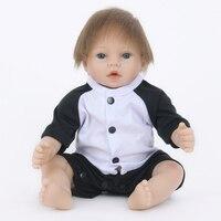 55CM Silicone Reborn Baby Dolls Real Cloth Body Girl Reborn Baby Girl Doll Toys Realistic Princess Babies Kids Doll Brinquedos