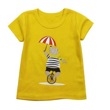 Nowa letnia odzież dziecięca chłopięca koszulka drukowana z krótkim rękawem bawełniana koszulka dziecięca O-neck koszulka chłopięca tanie i dobre opinie tender Babies Aktywny COTTON Pasuje prawda na wymiar weź swój normalny rozmiar Cartoon baby Topy Tees Boys baby