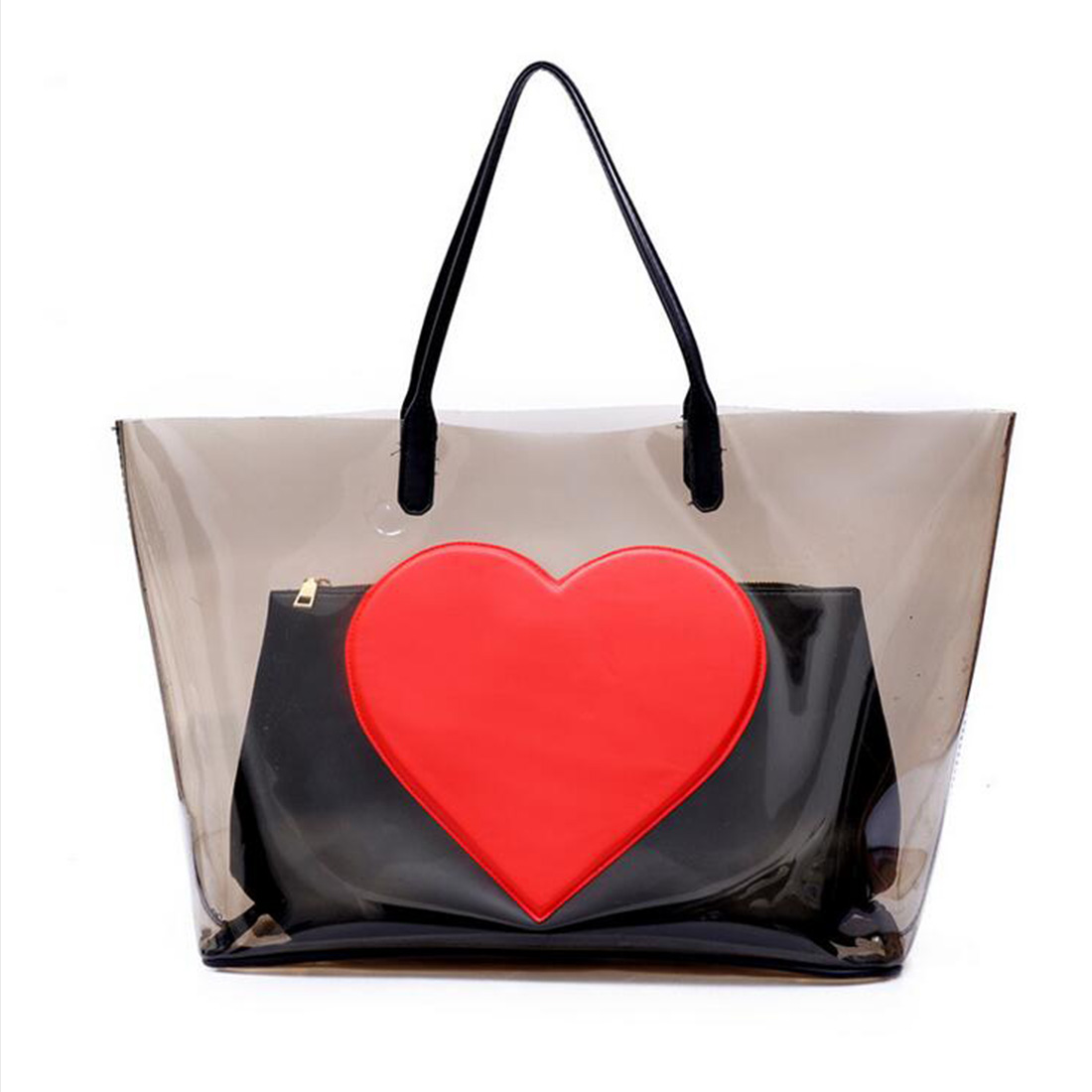 Popular Large Clear Tote Bags-Buy Cheap Large Clear Tote Bags lots ...