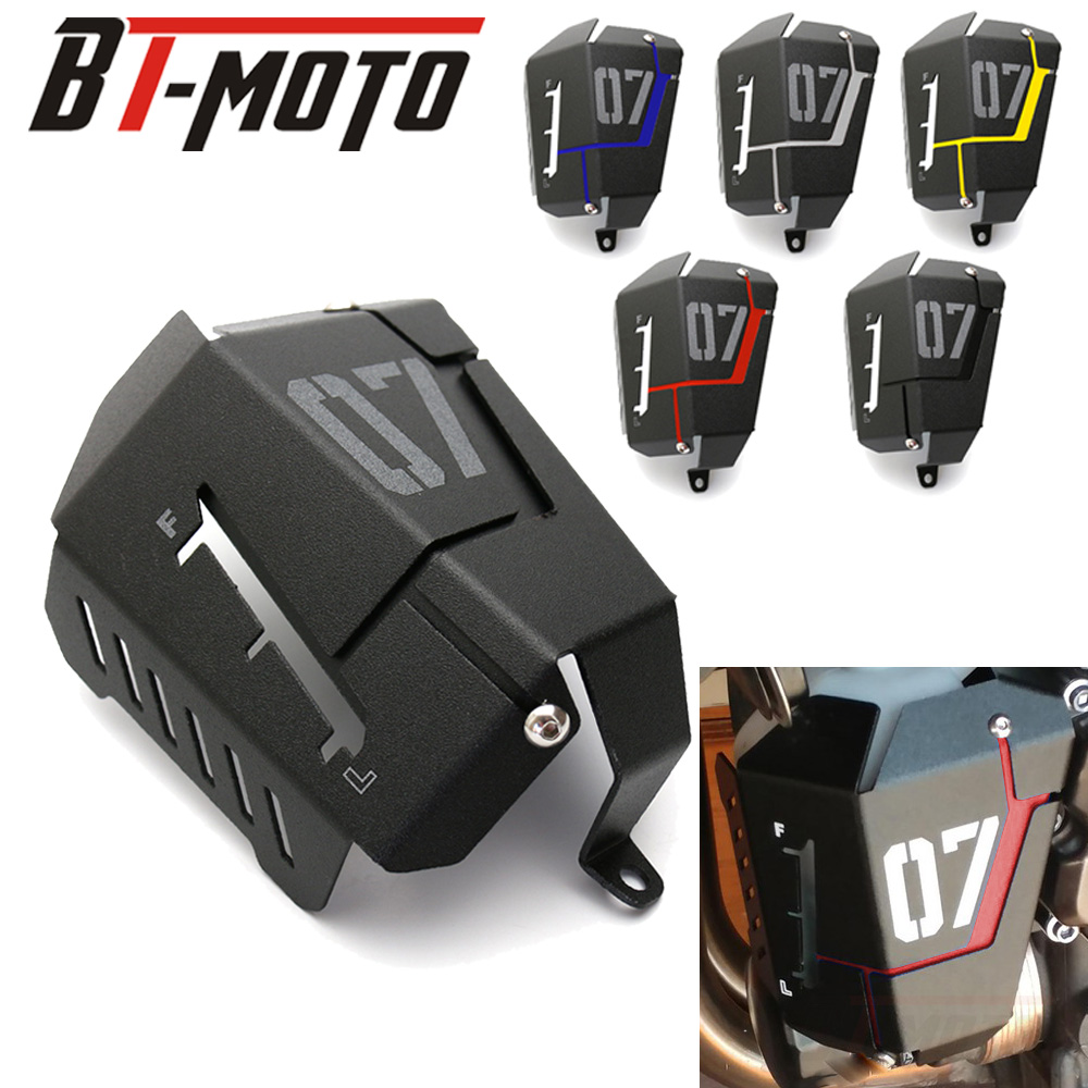 MT07 FZ07 Coolant Recovery Tank Shielding Cover For Yamaha MT-07 FZ-07 MT 07 FZ 07 2014 2015 2016 <font><b>2017</b></font> 2018 2019 image
