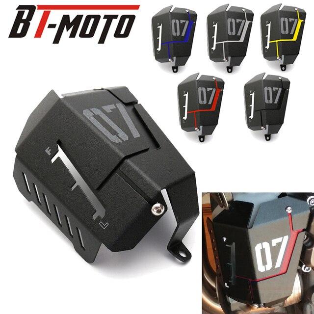 MT07 FZ07 Refrigerante Tanque de Recuperação que Protege a Tampa Para Yamaha MT-07 FZ-07 MT 07 07 FZ 2014 2015 2016 2017 2018 2019
