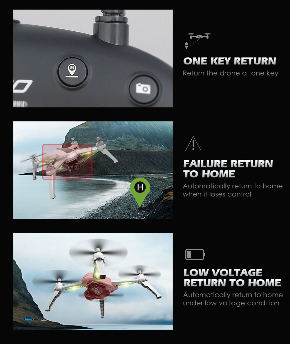 JJRC JJPRO X5 RC Drone 5G WiFi FPV Drones GPS Positioning Altitude Hold 1080P Camera Point of Interesting Follow Brushless Motor 7