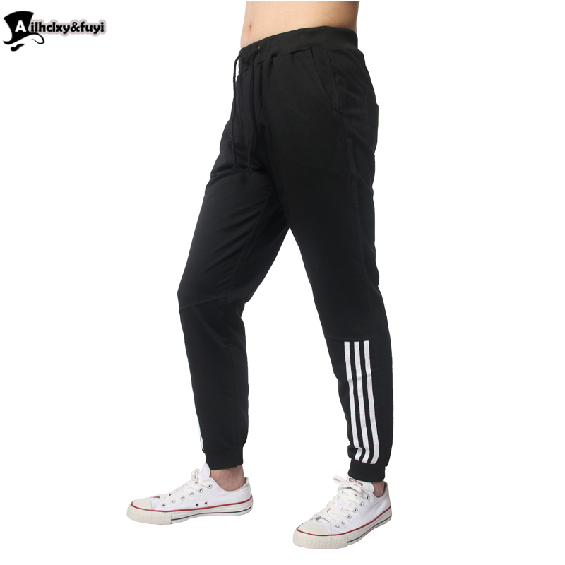 Ailhclxy&fuyi hip hop harem sweatpants pants men trousers