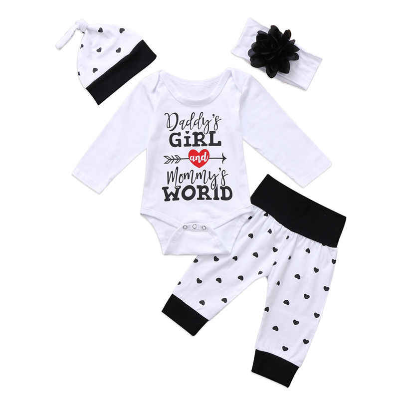 54626a874 Detail Feedback Questions about Newborn Baby Girls Top Romper Pants ...