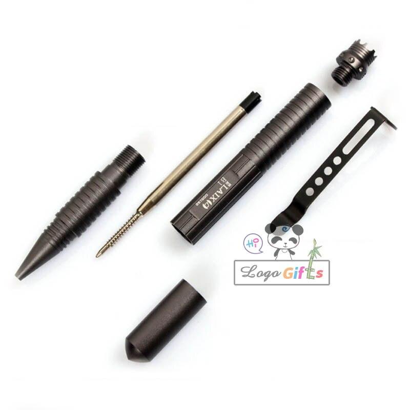 Outil de stylo tactique défense personnelle de protection de sécurI avec recharg