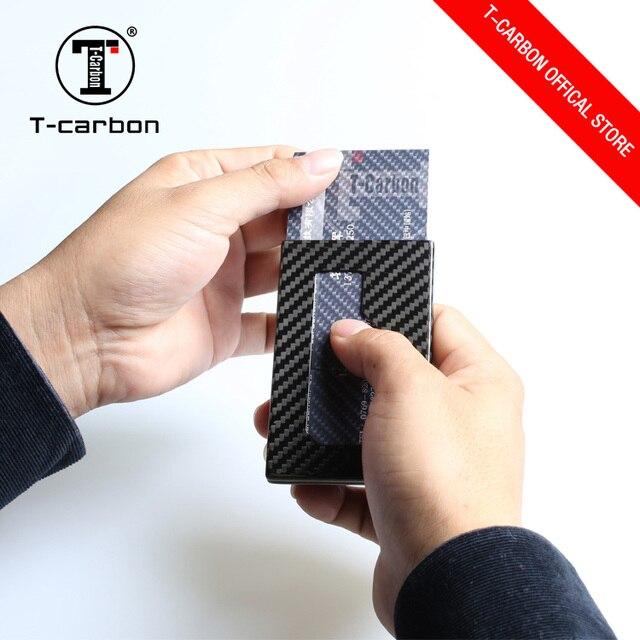 3ce86667efdddf T-carbonio produttore in fibra di carbonio personalizzato fermasoldi porta  carte di credito