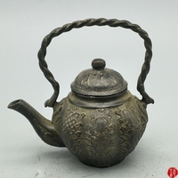 Antique old Chinese broze pot,Hand carved crafts, best Decoration Collection,Free shipping