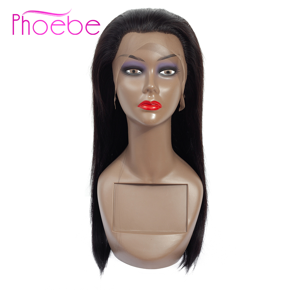 Phoebe Hair 13x4 Lace Front Human Hair Wigs For Women Brazilian Straight Lace Front Wigs Pre
