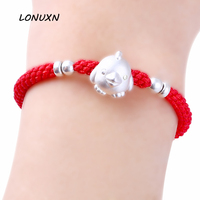 Red String Bracelet Twelve Zodiac Year Of Fate Transport Bead Couples Men And Women Students