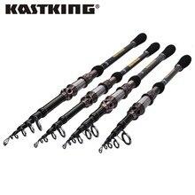 KastKing высокоуглеродистая телескопическая Рыбная ловля стержня сверхтвердых ультра легкий удочку углерода 1.8 м-2.7 м Рыбная ловля Удочка Рыбная ловля полюс
