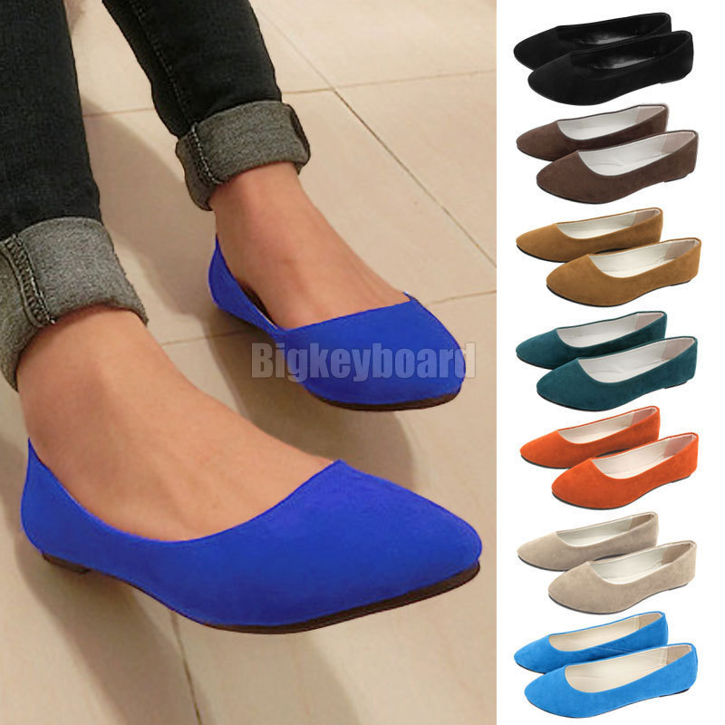 ! 2015 New Fashion Ladies Ballerina Dolly Microsuede Womens Slippers Flat Shoes 8 Color Z2 - Online Store 531010 store
