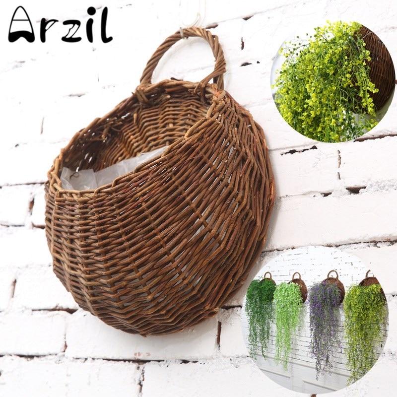 Popular wall wicker baskets buy cheap wall wicker baskets - Panier de basket mural ...