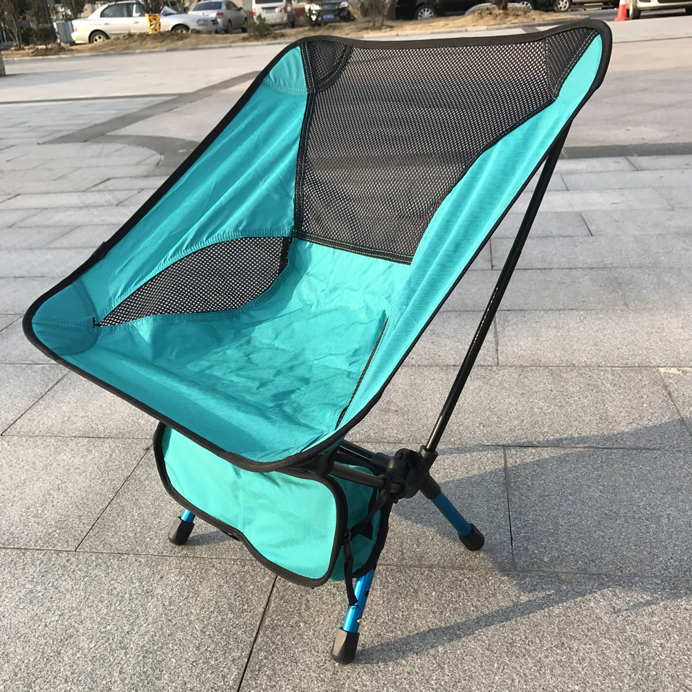 Picnic Chairs Multifunctional Outdoor Portable Folding Fishing Chairs With Bag Camping Stool Picnic Chair Festival Bbq Beach Seat 6 Colors In Beach Chairs From