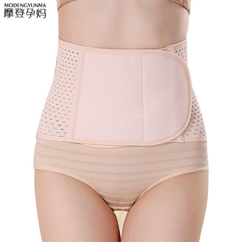 postpartum bandage 2020 Waist Polyester Postpartum Abdominal Belt Maternity Bandage Band Pregnant Women Control Slimming Belt
