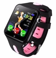 Kids Smart Watch GPS Children LBS Location Sport Child Smartwatch Waterproof Support SIM Card Camera Safety Phone Watches Baby