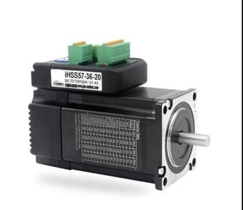 NEMA23 1Nm 142oz.in Integrated Closed Loop Stepper motor with driver 36VDC JMC iHSS57-36-10