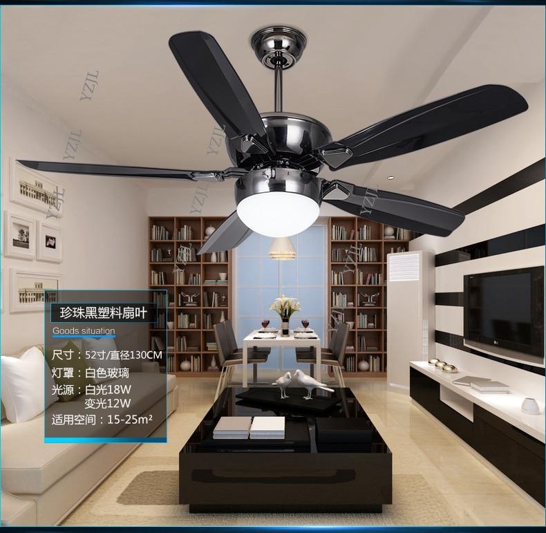 DC Inverter LED Fan Light Ceiling Fans Minimalism Modern Dining Room  Ceiling Fan Light Living Room