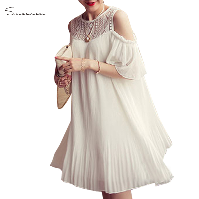 Hot Sale 2018 Summer Sexy Women Polyester Butterfly Sleeve Tunic