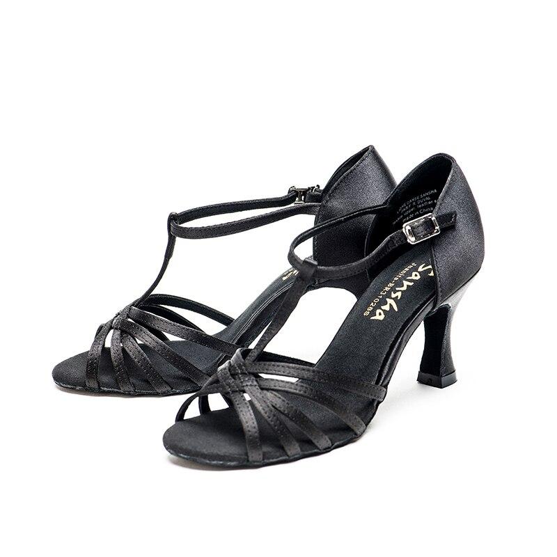Sansha Women Satin Latin Dance Shoes 7