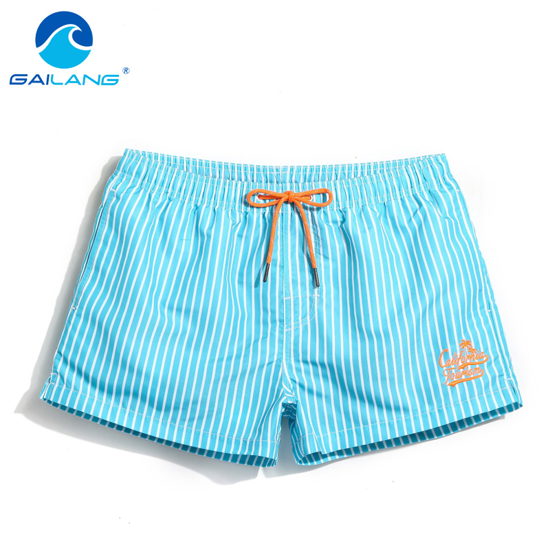 Gailang Brand Men Beach   Board   Surfing Boxer   Shorts   Trunks Quick Drying Plus Size Swim Water Sports   Shorts   Men's Swimwear 2017