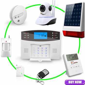 Comfortable Keyboard M2B Wireless GSM alarm system, LCD Screen, For Home Burglar Alarm System, Sensor Detector Alarm
