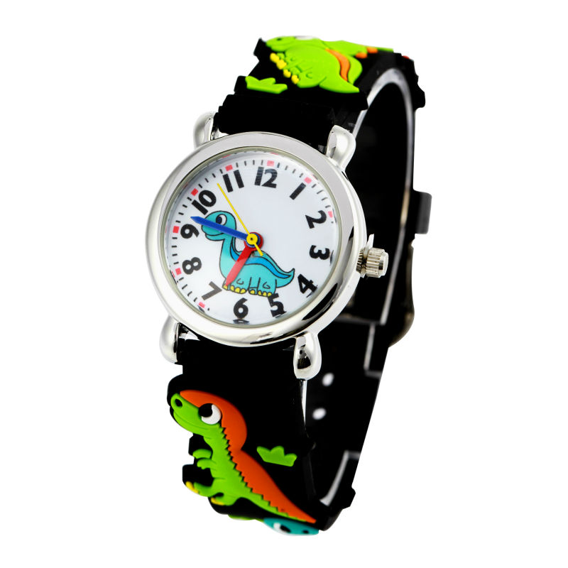 Free drop shipping retail hot sale gift high-quality The dinosaurs 3d cartoon kids boys students wrist Watch hot hair cuff clip jewelry hairpin womens accessories xmas gift star leaf drop shipping high quality s16 drop shipping