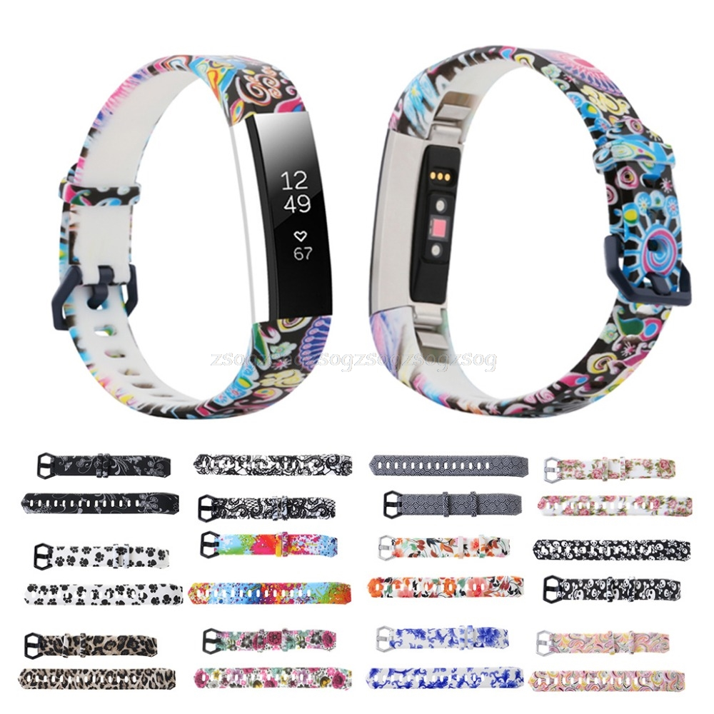 11 Possible Replacements On The View: Replacement Wristband Strap Watch Bands For FitBit Alta
