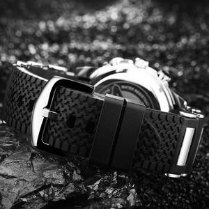 Image 5 - Men Sports Watches Waterproof Mens Military Digital Quartz Watch Alarm Stopwatch Dual Time Zones Brand New relogios masculinos