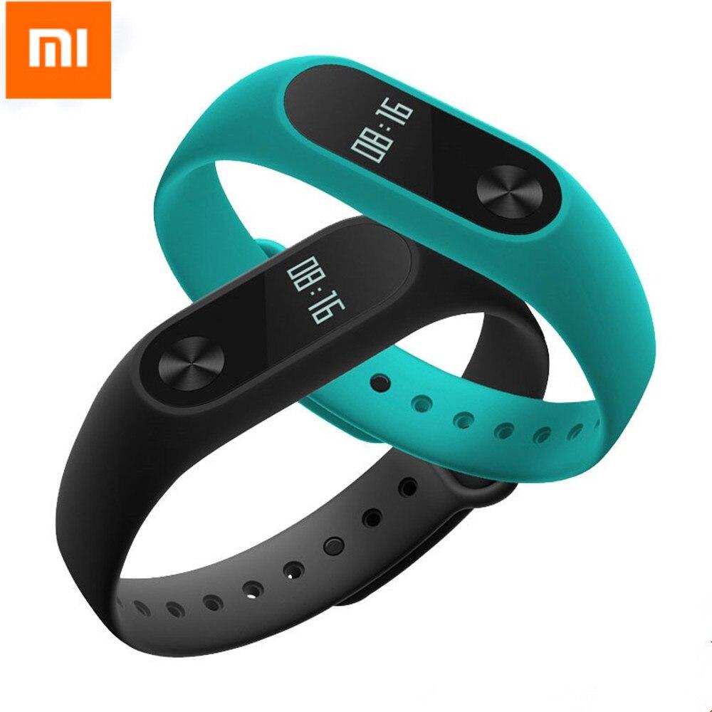 Original Xiaomi Mi Band 2 Wristband Optional Colorful Straps Sleep Tracker IP67 Waterproof Smart Mi Band