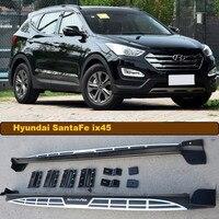 For Hyundai Santa Fe ix45 2013.2014.2015.2016.2017 Car Running Boards Side Step Bar Pedals High Quality Original Design Nerf Bar
