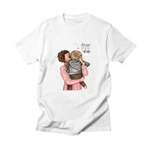 BTFCL Great Mother T Shirt Mothers Love Femme Cotton Printed Best Gift for Super Mom  Plus Size Korean Clothes