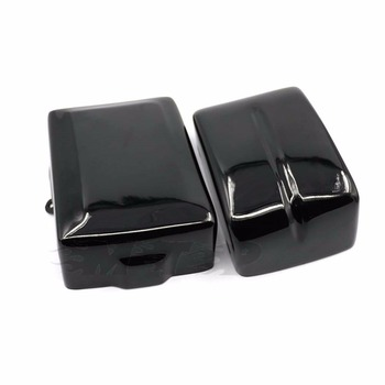 For 2012-2017 Harley Dyna Low Rider FXDL FatBob Switchback Motorcycle Battery Cover Guard Left Right Side Frame Super Wide Glide