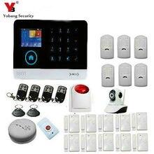 YoBang Security WIFI GPRS 3G WCDMA/CDMA Home Alarm System Wireless Security PIR Motion Sensor Door Window Sensor 3G 433MHZ.