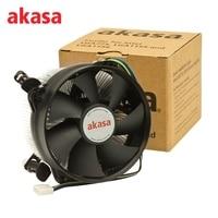 Akasa 94 8mm Aluminum PC CPU Cooling Fan Cooler 4Pin CPU Fan Double Platform Processor Cooler