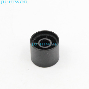 (5pcs/lot) LXN17x14 Mini Aluminum Alloy Knobs Cap 17x14mm Mounting 6mm Black For Rotary potentiometer Encoder Switch