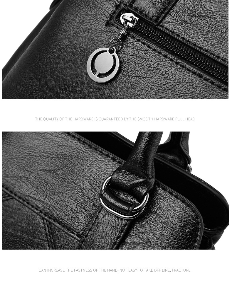 Women Bag 2019 New Women Messenger Bags Fashion Pu Leather Shoulder Bags Handbags Famous Brands, Big Crossbody Bags For Women 26