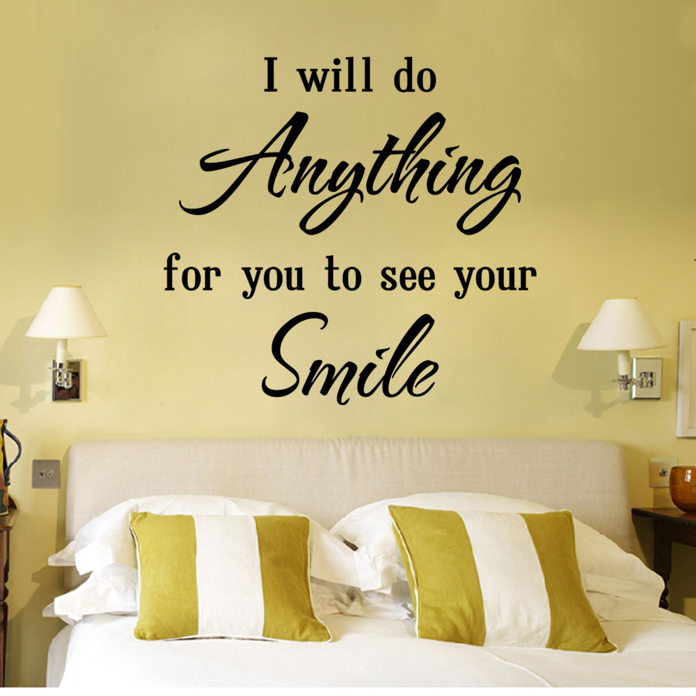 Dorable Decorative Wall Decals Quotes Component - The Wall Art ...