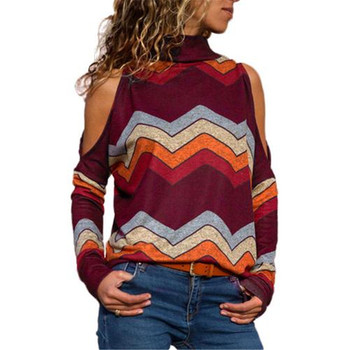 Women's Pullover Sexy Pullover Winter Off-the-shoulder Women Knitted Sweater Women's Pullover Women's Knit Jersey Pullover Women's 2