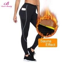 Lover Beauty Body Shaper Slimming Pants Thermo Sweat Sauna B