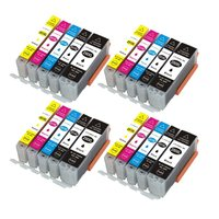20x PGI 250 CLI 251 ink Cartridge Compatible for Canon PIXMA MX922 IP7220 IP8720 IX6820 MG5522 MG5420 MG5422 MG5520 MG5620