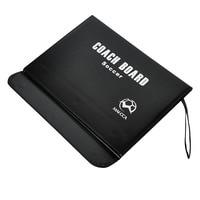 MAICCA Magnetic Football Coaching Board Folding Soccer Coach Tactics Book Set With Pen Clipboard Teaching Equimpment