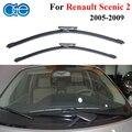 Oge limpiaparabrisas cuchillas para renault scenic 2 y grand scenic 2 2 pieces/pair 2005-2009 24 inch ''20'' accesorios del coche cpd108