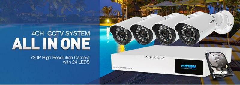CCTV Security Camera System 4410X5AMC4 (1)