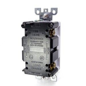 Image 5 - Gfci 米国米国標準電源ソケット、ユニバーサルプラグソケットポート電源アダプタ、改ざんにくいデュプレックスレセプタクル、自動テスト