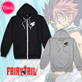 Fairy Tail unisex winter Coat mens hoodies and sweatshirts Cosplay Costume girls clothes womens clothing Outwear Cartoon Tops