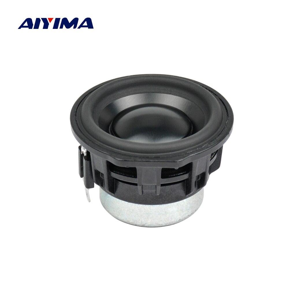 2 Inch 4Ohm 10W Bluetooth Portable Speaker Full Range Neodymium Low Frequency Loudspeaker For Google Home Speakers 1PC